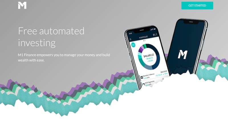 M1 Finance Home Page