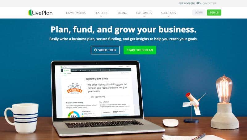 LivePlan - Best Business Plan Software