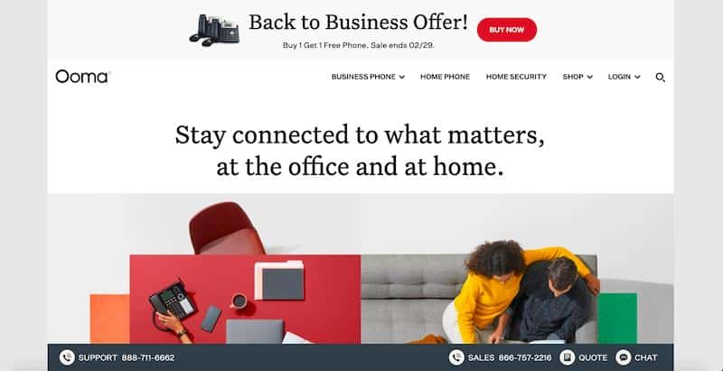 Ooma: affordable VoIP services