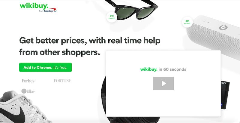 Wikibuy - shop at the cheapest rates